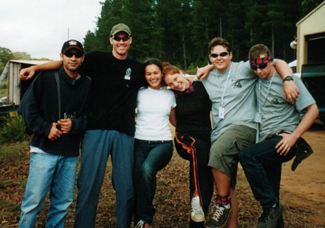 some of the crew at skin 2002